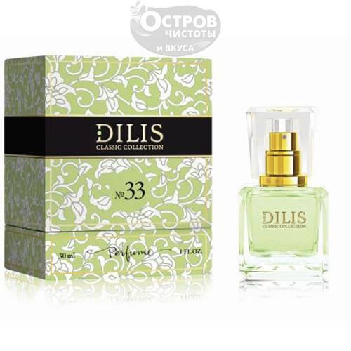"Духи ""Dilis Classic Collection"" №33, 30мл"